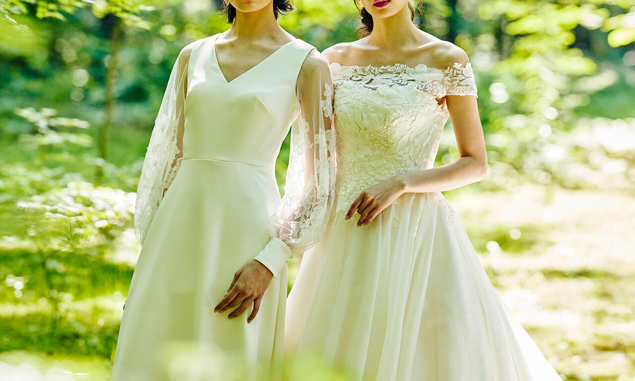 写真:ウエディングドレス(イメージ)