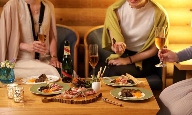 写真:ホテル特製お夜食付きプラン