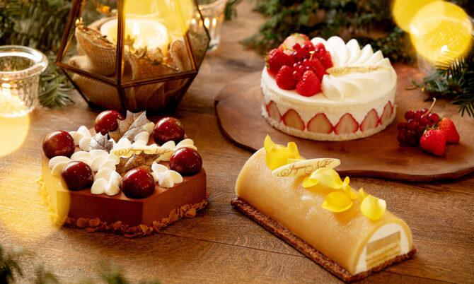 写真:ホテルブレストンコート クリスマスケーキコレクション2020
