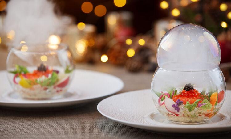写真:【受付終了】軽井沢ホテルブレストンコートのクリスマスディナー 長野県にお住いの方をご招待