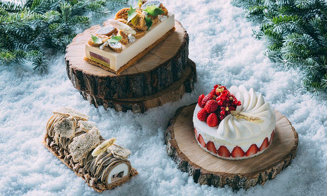 写真:軽井沢ホテルブレストンコートのクリスマスケーキ