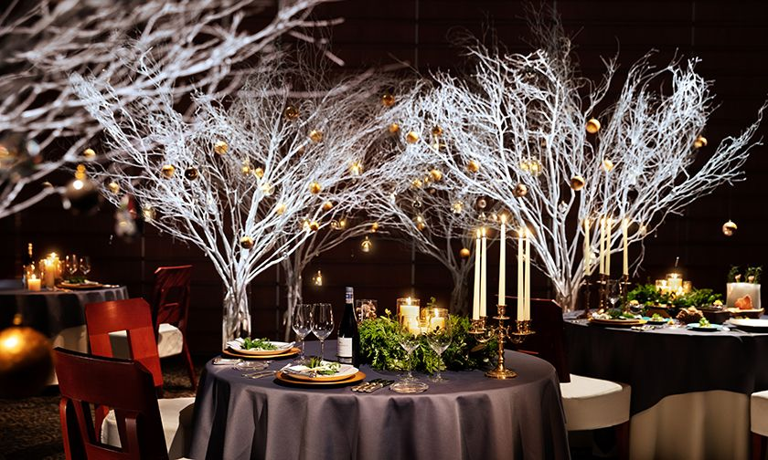 写真:クリスマスの時期だけにオープンする、特別なレストラン
