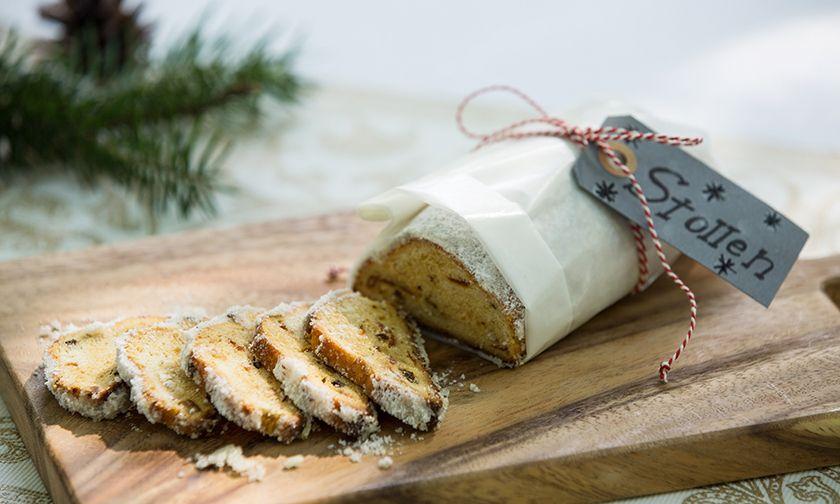 写真:ヨーロッパのクリスマス伝統菓子をアレンジした、オリジナルスイーツ