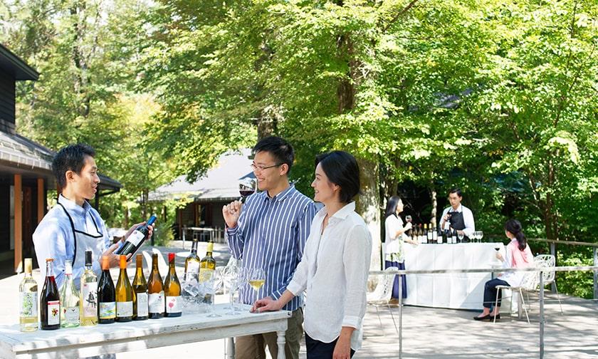 写真:ナチュラルワインのお祭り