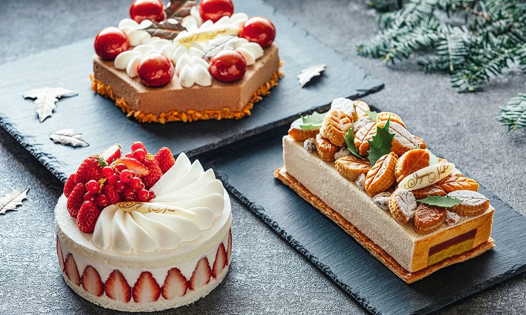 写真:ホテルブレストンコート クリスマスケーキコレクション2019<ご予約承り中>
