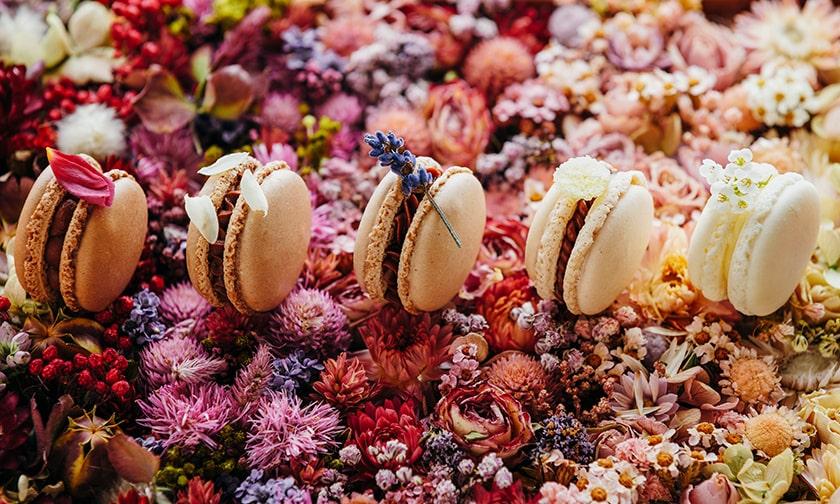 写真:気軽に味わえる、香り×ショコラ「プチ・デセール・バレンタイン」