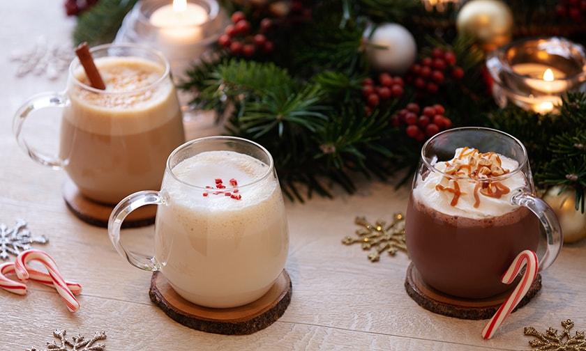 写真:The Christmas Seasonal Drinks(クリスマスシーズナルドリンク)