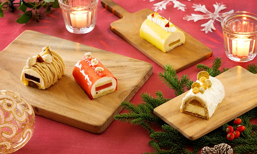写真:クリスマス・ガトー~小さなビュッシュ・ド・ノエル~