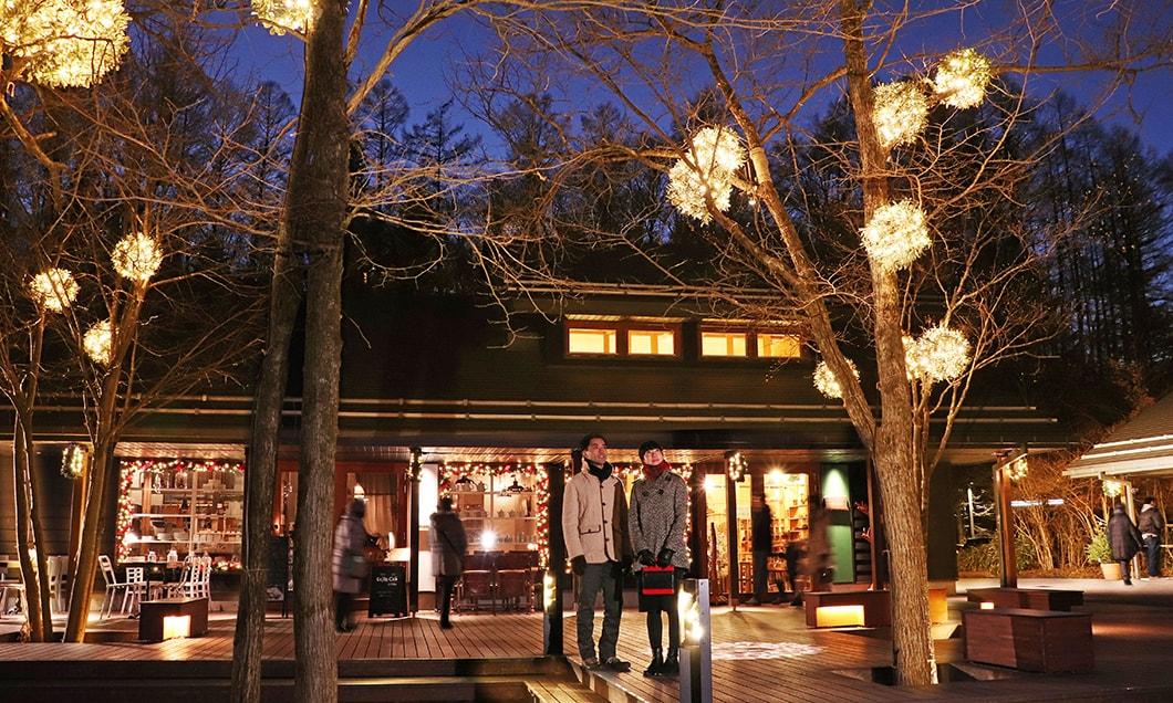 写真:軽井沢星野エリアのクリスマス2019