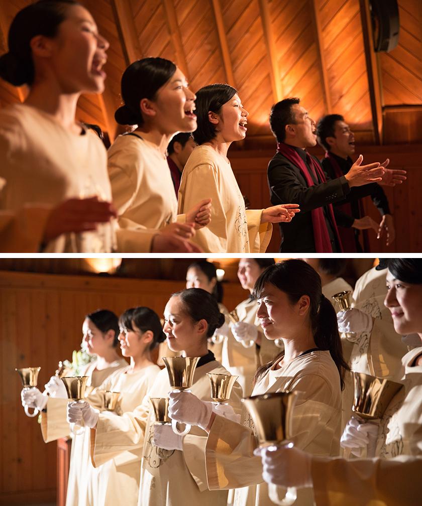 写真:祈り、歌う クリスマス音楽礼拝